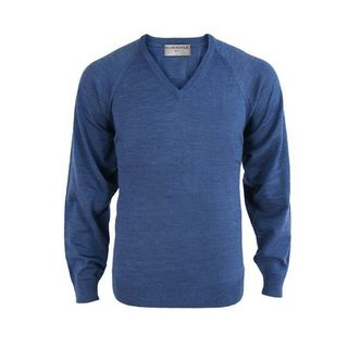 Silverdale - Classic Fit Merino V Neck Pullover sizes S - 3XL