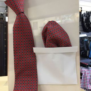 Microfiber  ties and hankies